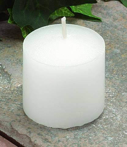 C1244 10 HR. VOTIVE- WHITE- BULK