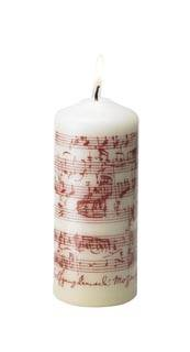 CP6BG MOZART MUSIC PILLAR, BURGUNDY