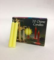 C1123YE/10 YELLOW CHIME CANDLES-10 BX/20