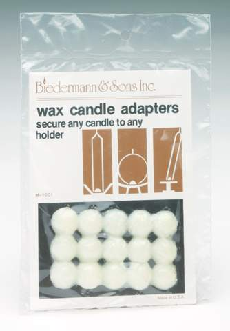 M1001C WAX CANDLE ADAPTERS