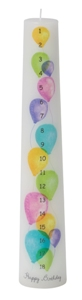 CP18 BALLOONS 1-18 BIRTHDAY PILLAR