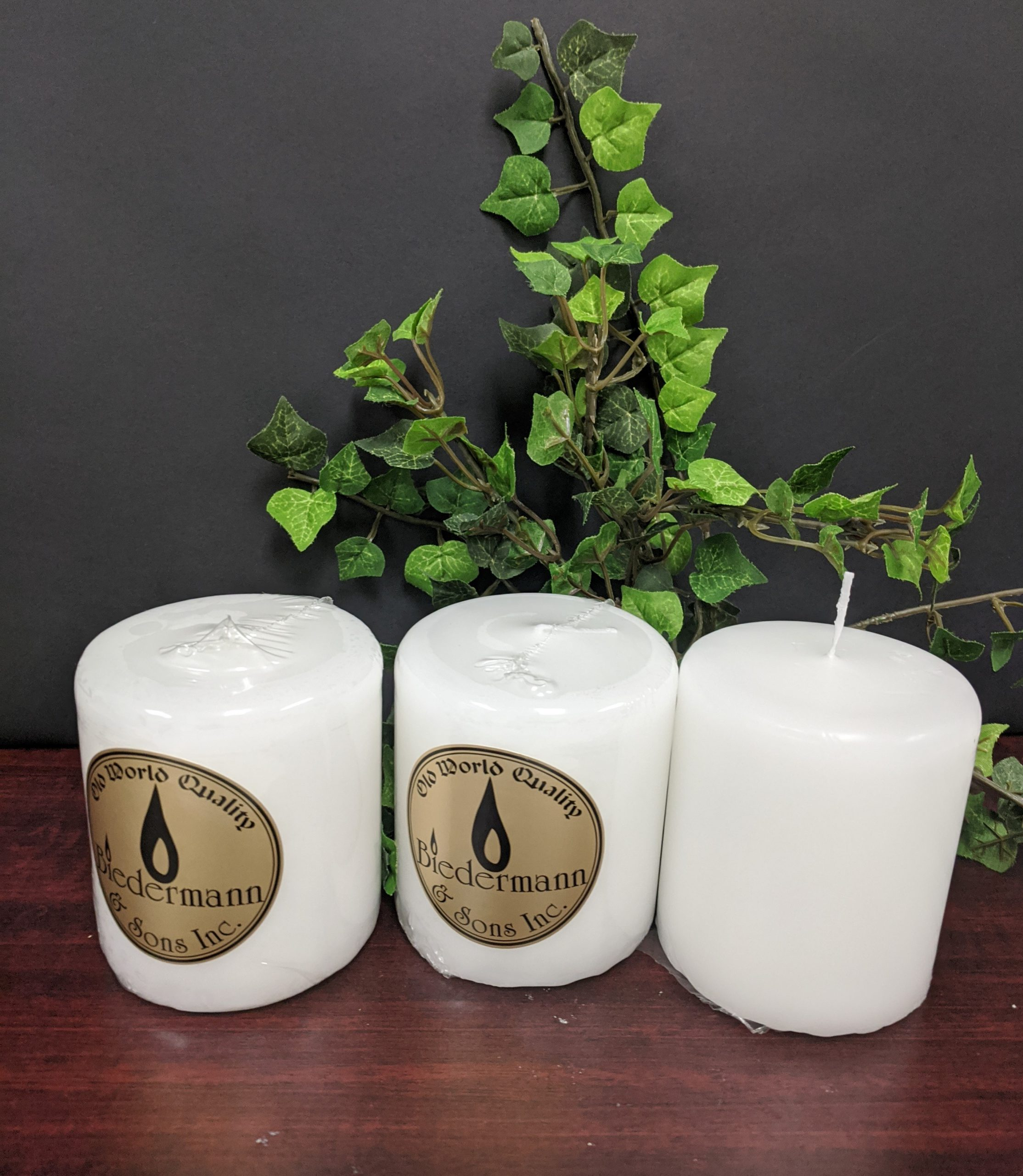 C303WTN/3 3 X 3 PILLAR CANDLE