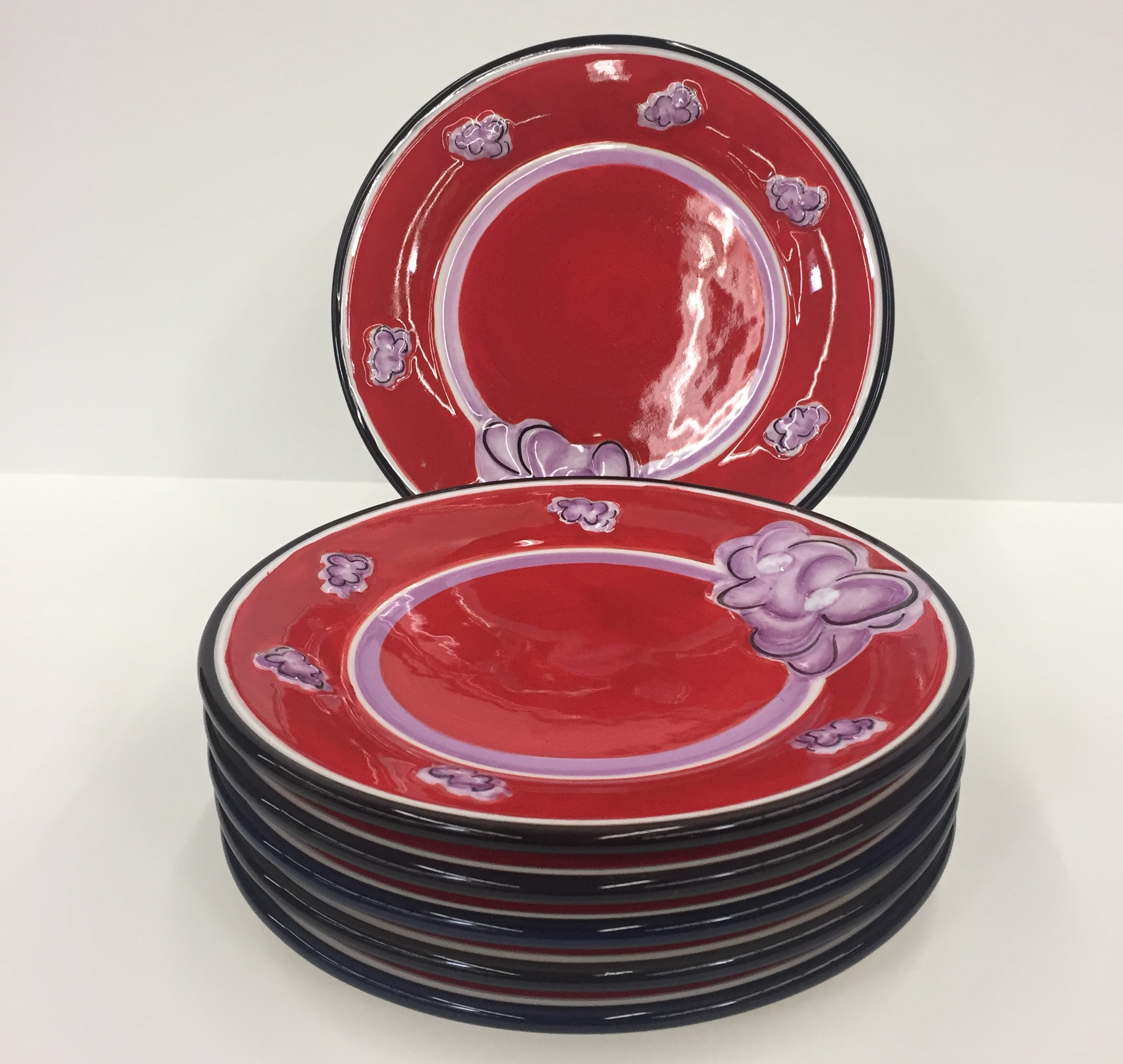 H514 REDHAT DESIGN JAR/PILLAR PLATE